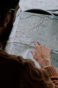 planowanie na mapie